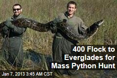 400 Sign Up for Everglades Python Hunt