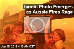 Family Trapped on Jetty as Aussie Fires Rage