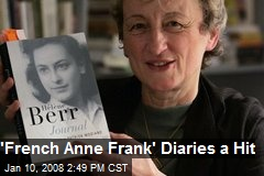 'French Anne Frank' Diaries a Hit