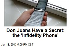 Don Juans Have a Secret: the 'Infidelity Phone'