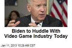 Biden to Huddle With Video Game Industry Today