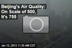 Beijing's Air Quality: On Scale of 500, 755