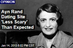 Ayn Rand Dating Site 'Less Scary' Than Liberals Expected