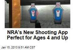 NRA's New Shooting App Perfect for Ages 4 and Up