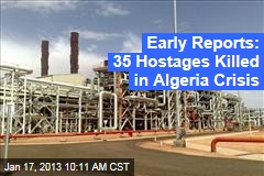 Troops Surround Algerian Gas Field in Hostage Crisis
