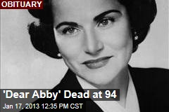 'Dear Abby' Dead at 94
