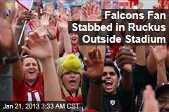 Falcons Fan Stabbed in Ruckus Outside Stadium
