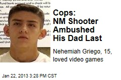 Cops: NM Shooter Ambushed His Dad Last