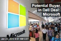 Potential Buyer in Dell Deal: Microsoft