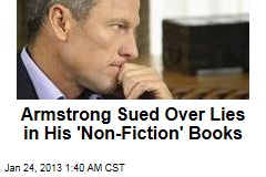 Armstrong Sued Over Lies in His Books