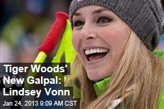 Tiger Woods' New Galpal: Lindsey Vonn