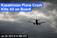 Kazakhstan Plane Crash Kills All on Board