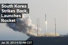 South Korea Strikes Back, Launches First Rocket