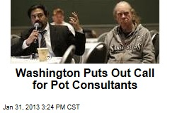 Washington Puts Out Call for Pot Consultants