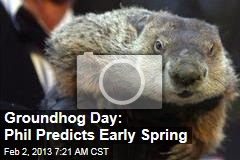 Groundhog Day: Phil Predicts Early Spring