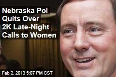Nebraska Lt. Gov. Quits After Late-Night Phone Calls to Women