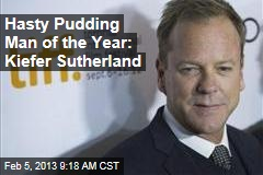 Hasty Pudding Man of the Year: Kiefer Sutherland
