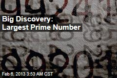 17M-Digit Prime Number is Biggest Ever Found