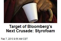 Target of Bloomberg's Next Crusade: Styrofoam