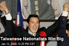 Taiwanese Nationalists Win Big