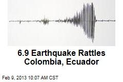 7.0 Earthquake Rattles Colombia, Ecuador