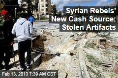 Syrian Rebels' New Cash Source: Stolen Artifacts