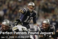 Perfect Patriots Pound Jaguars