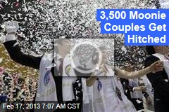 3,500 Moonies Get Hitched
