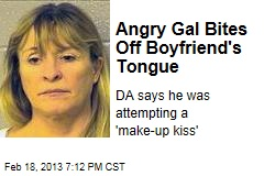Angry Woman Bites Off Boyfriend's Tongue
