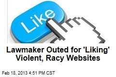 Pol Takes Heat for 'Liking' Violent, Racy Websites