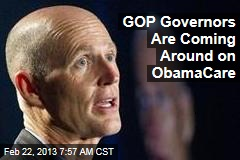 GOP Governors Are Coming Around on ObamaCare