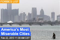 America's Most Miserable Cities