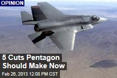 5 Cuts Pentagon Should Make Now