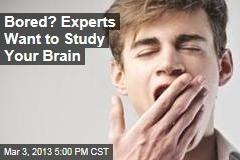 'Boredom Studies' Keeps Experts Wide Awake