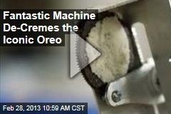 Fantastic Machine De-Creams the Iconic Oreo