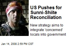 US Pushes for Sunni-Shiite Reconciliation