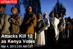 Gang Kills Police as Kenya Votes