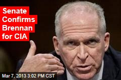 Senate Confirms Brennan for CIA