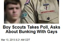 Boy Scouts Takes Poll, Asks About Bunking With Gays