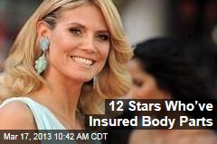 12 Stars Who've Insured Body Parts