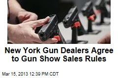 New York Gun Dealers Agree to Gun Show Sales Rules