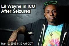 Lil Wayne in ICU After Seizures