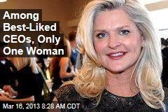 Among Best-Liked CEOs, Only One Woman