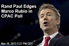 Rand Paul Beats Marco Rubio in CPAC Poll