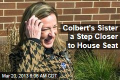 Colbert's Sister a Step Closer to House Seat