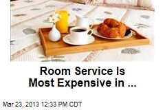 Room Service Is Most Expensive in ...
