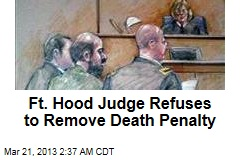 Fort Hood Suspect Can't Plead Guilty: Judge