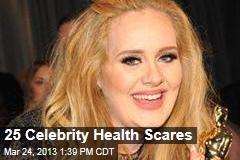 25 Celebrity Health Scares