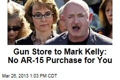 Gun Store to Mark Kelly: No AR-15 Purchase for You