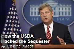 How the USDA Hacked the Sequester